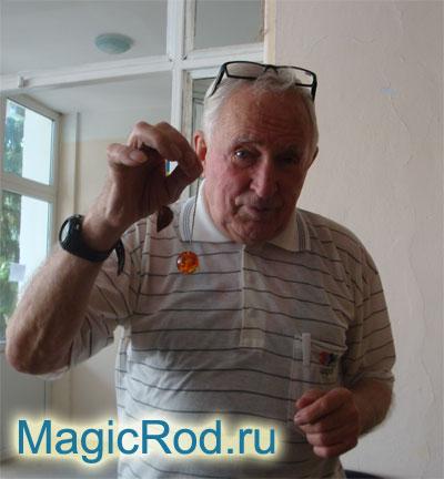 Борис Матвеевич Шевченко – президент клуба «Радиоэстезист»